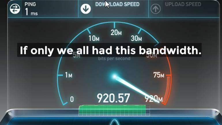 Bandwidth Woes – Slow Internet